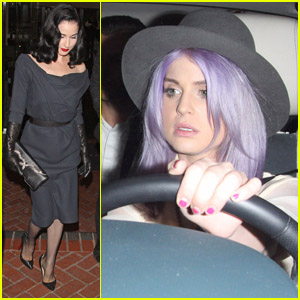 Dita Von Teese: Night Out with Kelly Osbourne
