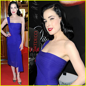 Dita Von Teese: ArtDeco Art Couture Collection in Germany!