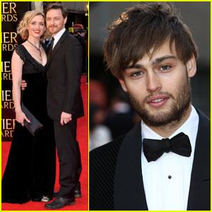 James McAvoy & Douglas Booth: Olivier Awards 2012!