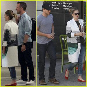 Drew Barrymore: Murdoch Plaza with Chris Miller!