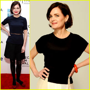 Elizabeth McGovern: 'Cheerful Weather' For a Portrait!