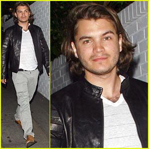 Emile Hirsch: Chateau Marmont Night Out!