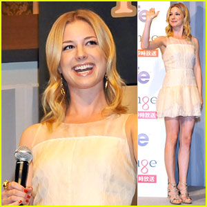 Emily VanCamp: 'Revenge' Press Conference in Tokyo