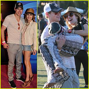 Emma Roberts: Coachella with Chord Overstreet!