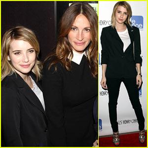 Emma Roberts & Julia Roberts: 'Jesus Henry Christ' Premiere!