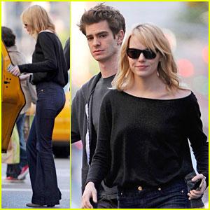 Emma Stone & Andrew Garfield: Grocery Run!