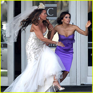 Eva Longoria: Runaway Bride!
