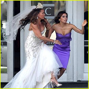 Eva Longoria: Runaway Bride!