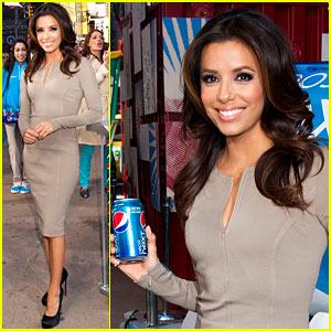 Eva Longoria: Pepsi Next Promotion!
