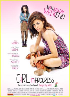 Eva Mendes: New 'Girl in Progress' Poster!