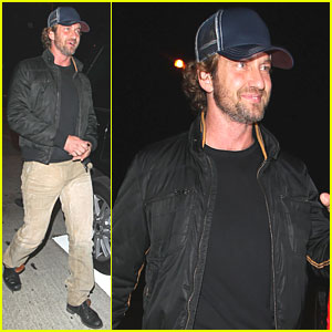 Gerard Butler: Cathouse Nightclub Night Out!
