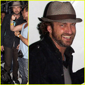 Gerard Butler: Coachella After Party!