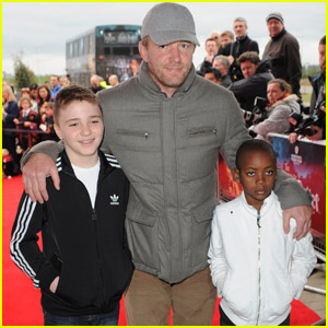 Guy Ritchie: 'Harry Potter' Tour Opening with David & Rocco