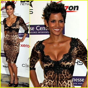 Halle Berry: Jenesse Silver Rose Awards with Olivier Martinez!