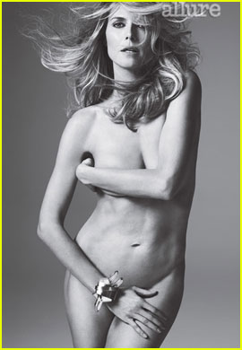 Heidi Klum: Nude for 'Allure' May 2012 Issue!