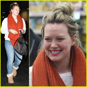 Hilary Duff: Mark Wahlberg's a 'Good Looking Man!'