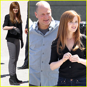 Isla Fisher: 'Now You See Me' with Woody Harrelson!