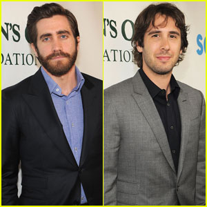 Jake Gyllenhaal & Josh Groban: Paul Newman Benefit!