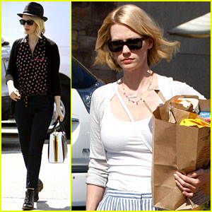 January Jones: Grocery Gal!