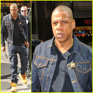 Jay-Z: Denim Dad!