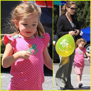Jennifer Garner & Seraphina: Mother-Daughter Day