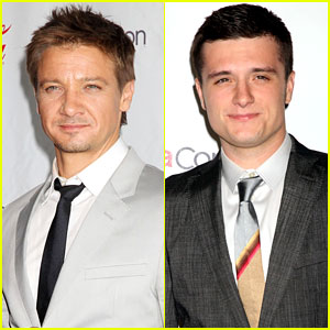 Jeremy Renner & Josh Hutcherson: CinemaCon Awards!