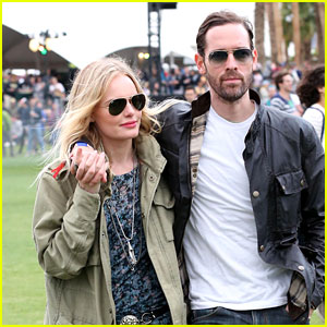 Kate Bosworth: Coachella with Michael Polish!