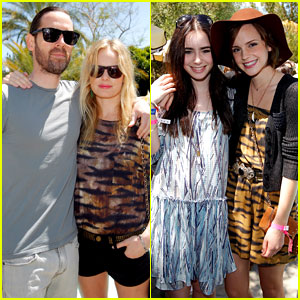 Kate Bosworth, Emma Watson, & Lily Collins: Mulberry BBQ!