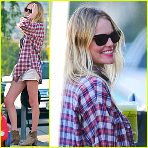 Kate Bosworth: Lemonade with Michael Polish!