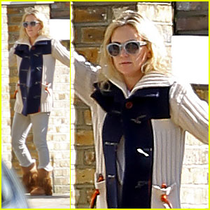 Kate Hudson & Bingham Visit Gwyneth Paltrow