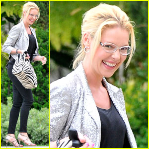 Katherine Heigl: Bonding with Naleigh Was 'Difficult'