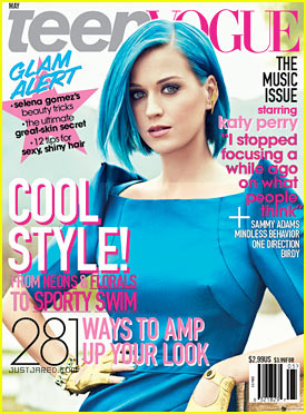 Katy Perry: 'Teen Vogue' Cover May 2012!