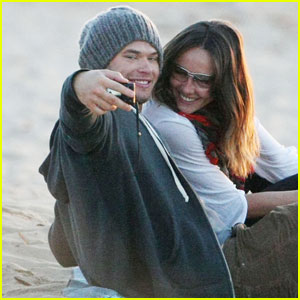 Kellan Lutz & Sharni Vinson: Cronulla Couple