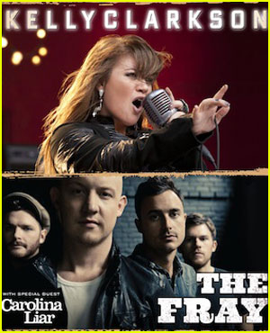 Kelly Clarkson: Summer Tour Dates with The Fray!