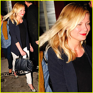 Kirsten Dunst: Bar Marmont Night Out!