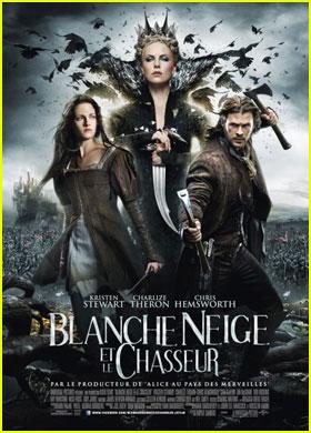 Charlize Theron & Kristen Stewart: 'Snow White' French Poster!