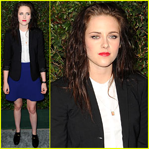 Kristen Stewart: 'My Valentine' World Premiere Pretty!