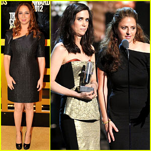 Kristen Wiig & Maya Rudolph: Comedy Awards 2012 Winners!