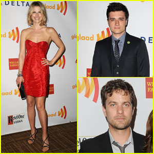Josh Hutcherson & Ali Larter: 2012 GLAAD Media Awards!