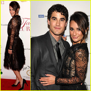 Lea Michele & Darren Criss: Taste For A Cure Gala