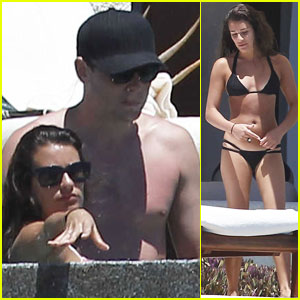 Lea Michele & Cory Monteith: Cabo Couple