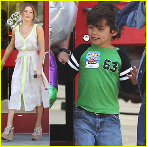 LeAnn Rimes & Brandi Glanville Celebrate Son Jake's Birthday!