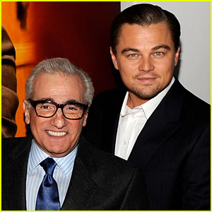 Leonardo DiCaprio & Martin Scorcese: 'Wolf of Wall Street' Team!