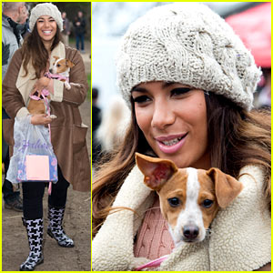 Leona Lewis Helps Animals For Easter!