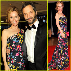 Leslie Mann & Judd Apatow - White House Correspondents' Dinner 2012