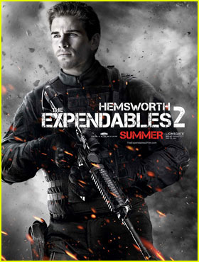 Liam Hemsworth: 'Expendables 2' Character Posters!