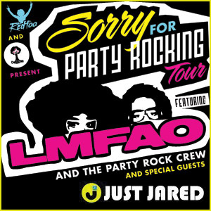 WIN The Party Rock with LMFAO Sweepstakes!