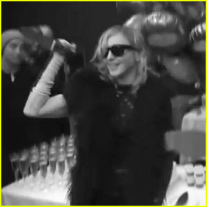 Madonna: Surprise Party for #1 Album!