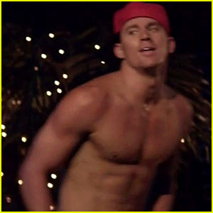 Shirtless Channing Tatum: 'Magic Mike' Teaser Trailer!