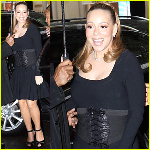 Mariah Carey Steps Out After Wedding Vow Renewal